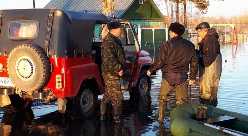 Сельских акимов готовят к паводкам, Паводки, подтопления, Происшествия, КЧС РК, Эвакуация