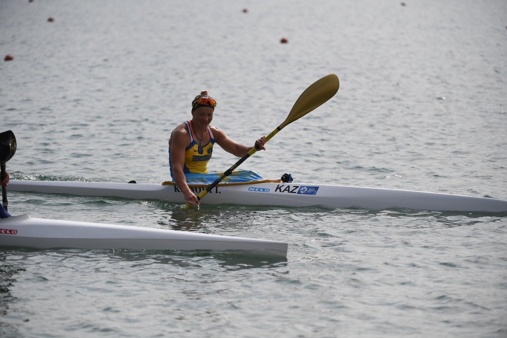 Инна Клинова стала четвертой в финале В на этапе Кубка мира по гребле на байдарке и каноэ