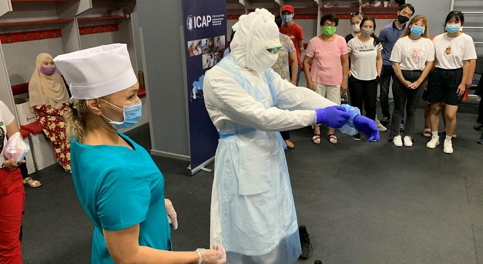 Начат национальный проект по усилению инфекционного  контроля в Казахстане