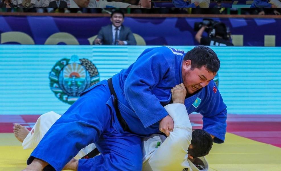 Казахстанский дзюдоист завоевал бронзовую медаль на этапе Гран-при в Ташкенте