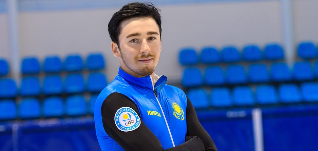 Казахстанец вошёл в топ-4 на втором этапе Кубка мира по шорт-треку