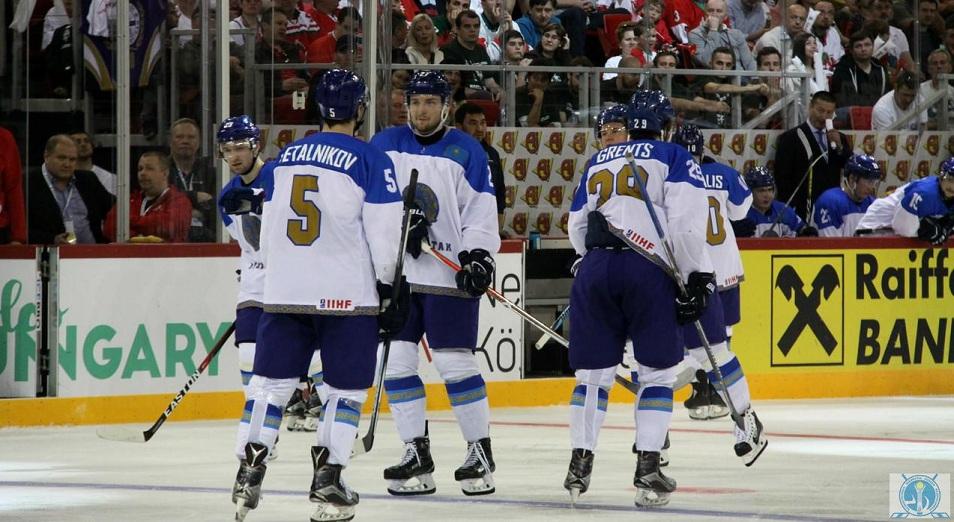 Казахстан захватил лидерство в первом дивизионе ЧМ, Хоккей, Казахстан, Венгрия, Спорт