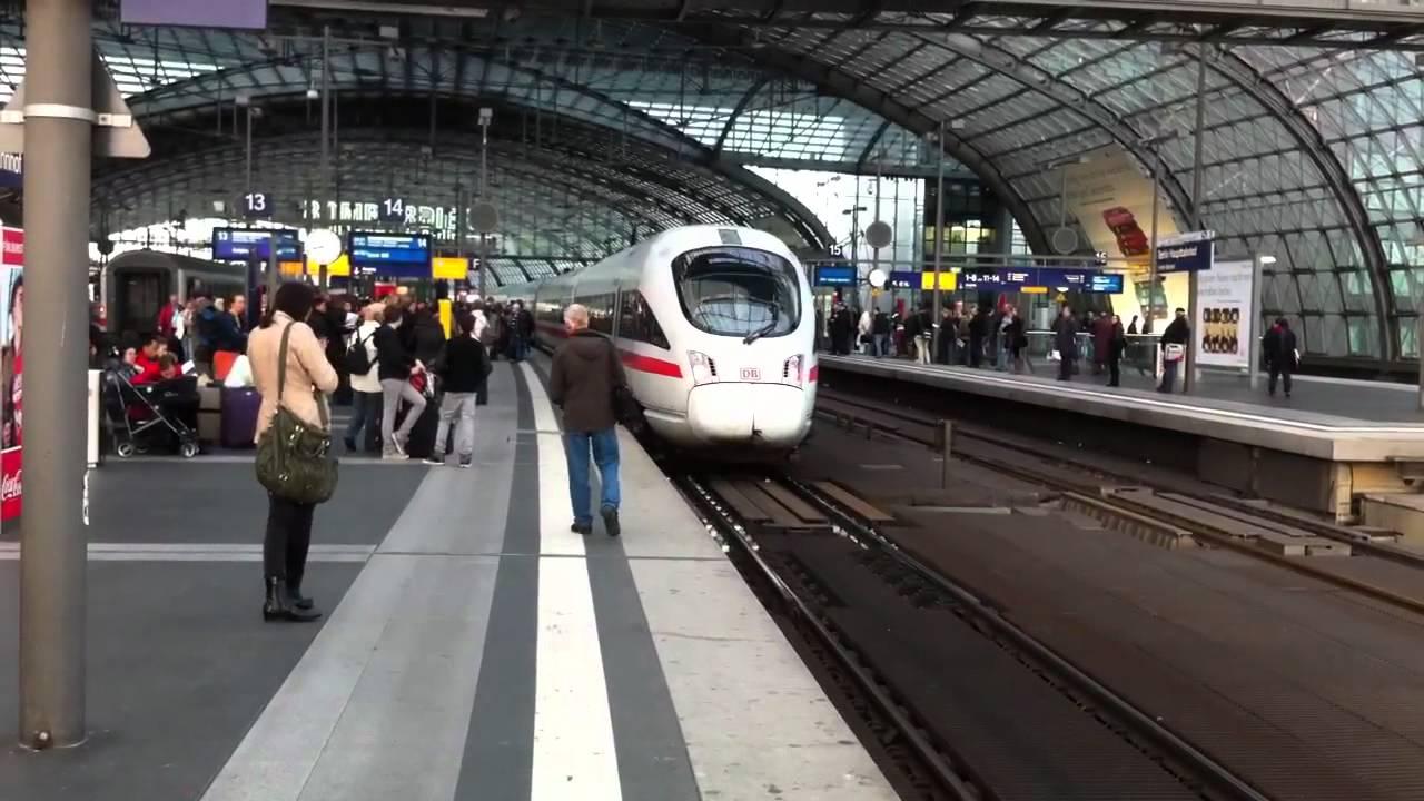 Железнодорожная система Германии парализована