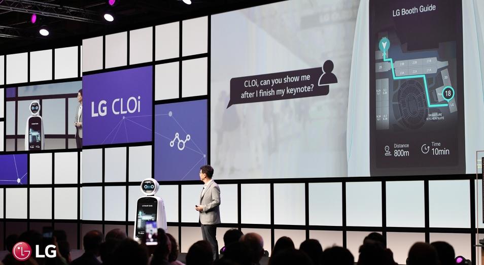 Почему LG Electronics делает ставку на роботов?