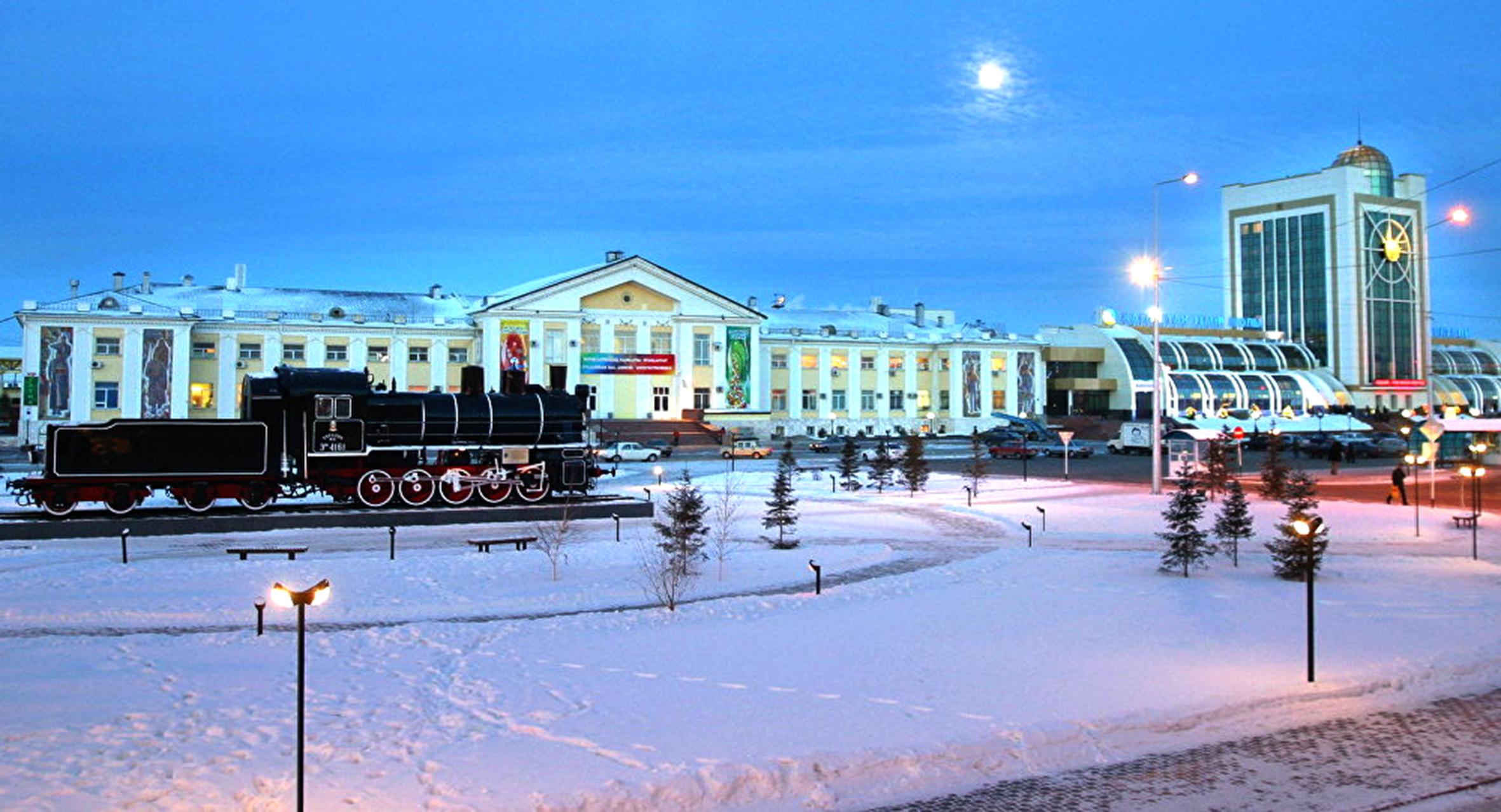 На железнодорожном вокзале Астана-1 появились новые эскалаторы