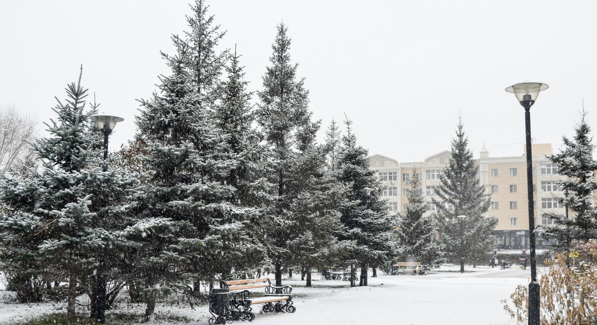 В Астане в ближайшие дни сохранится морозная погода
