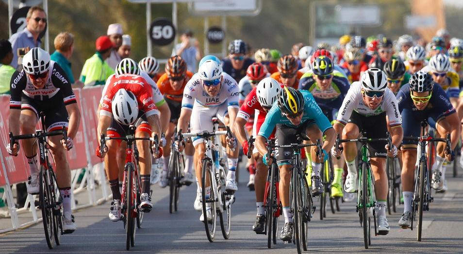 Astana Pro Team в этапе от тройного триумфа на Туре Омана