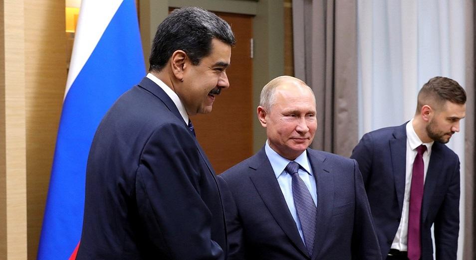 Мәскеу Мадуроға күмәндана бастады