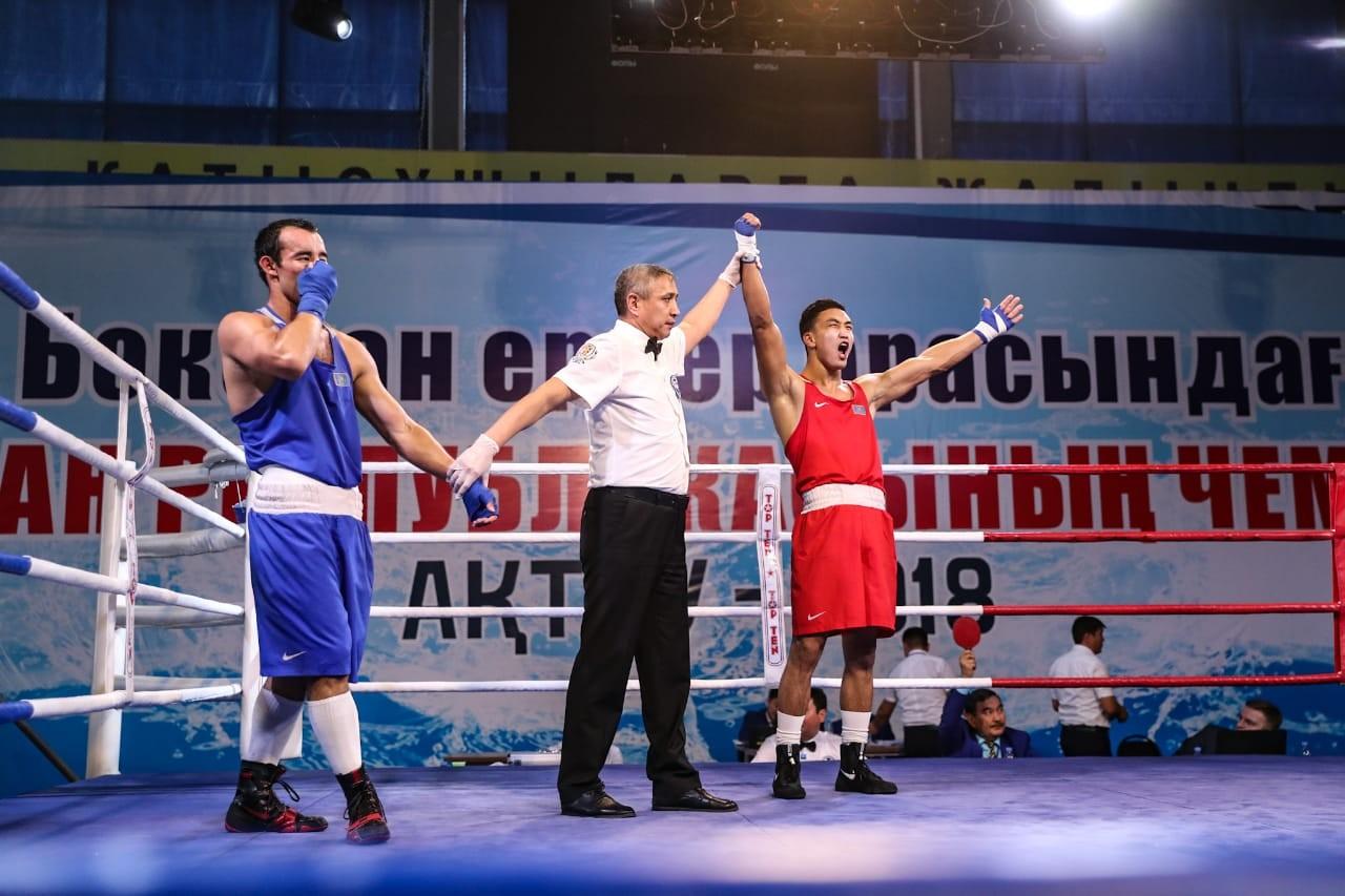В Актау завершился чемпионат Казахстана по боксу, объявлены победители