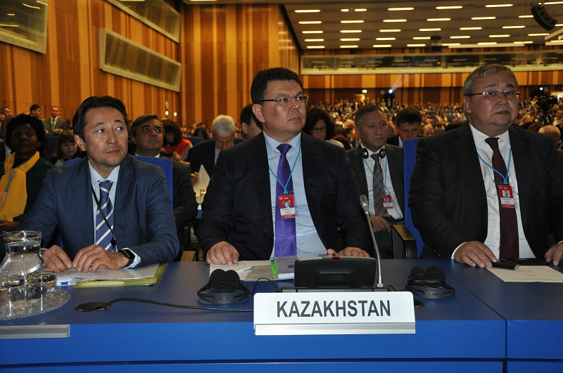 Канат Бозумбаев рассказал в МАГАТЭ о достижениях РК в нераспространении ядерного оружия