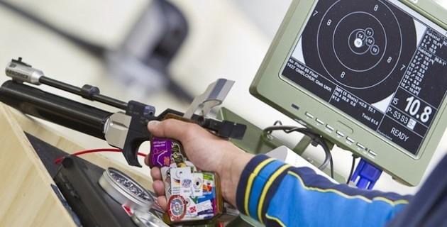 Казахстанская команда по стрельбе из пневматического пистолета вышла в финал Азиады-2018