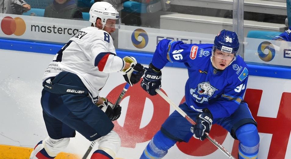 «Барыс» әлі бабында емес , Құрлықтық хоккей лигасы, хоккей, «Барыс» хоккей командасы, шабуылшы Әлихан Әсетов