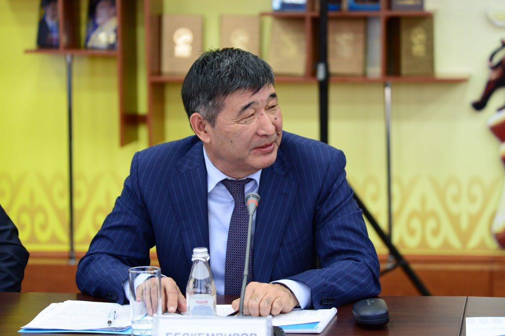 Досье: Бескемпиров Серикжан Ислямович,  акимат Алматинской области