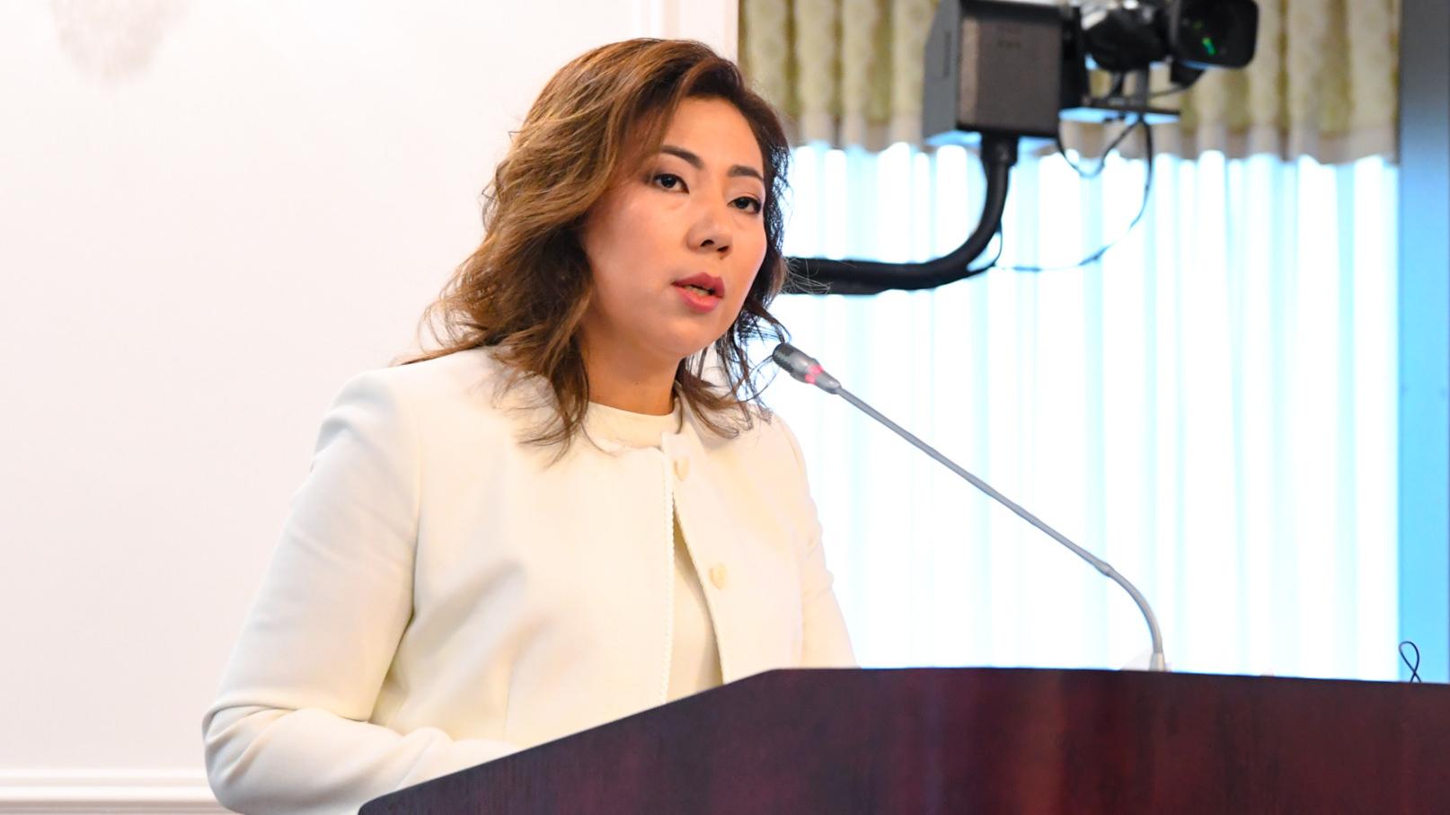 Какие перспективы на рынке труда Казахстана , Министр труда и социальной защиты населения, Мадина Абылкасымова