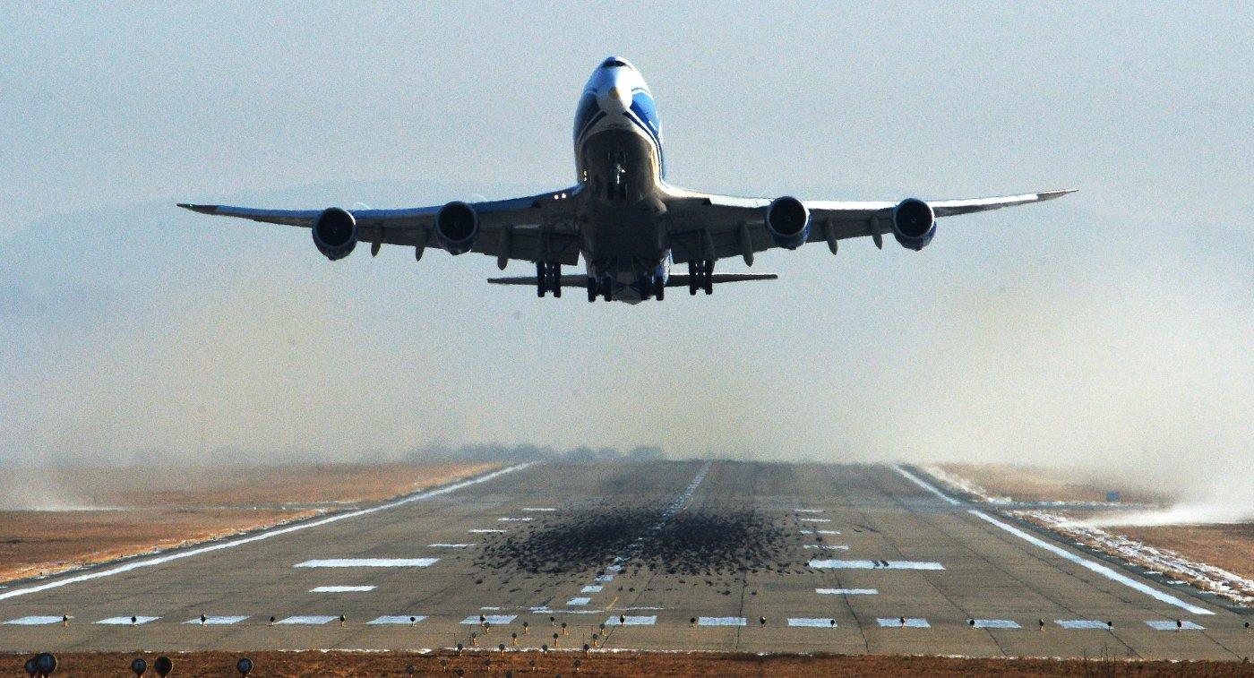 Самолет «Эйр Астаны» сел на запасном аэродроме в Португалии