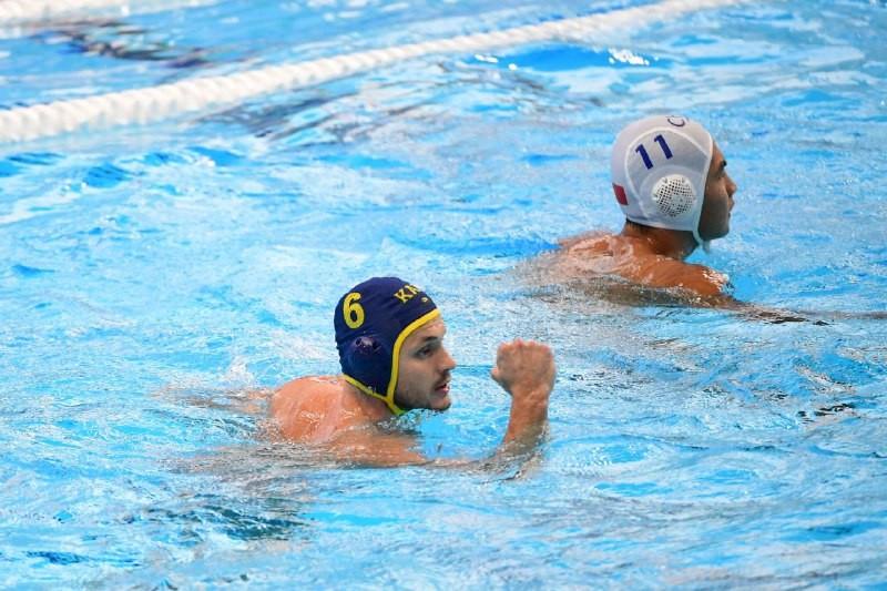Мужская команда РК одержала вторую победу в мировой лиге по водному поло