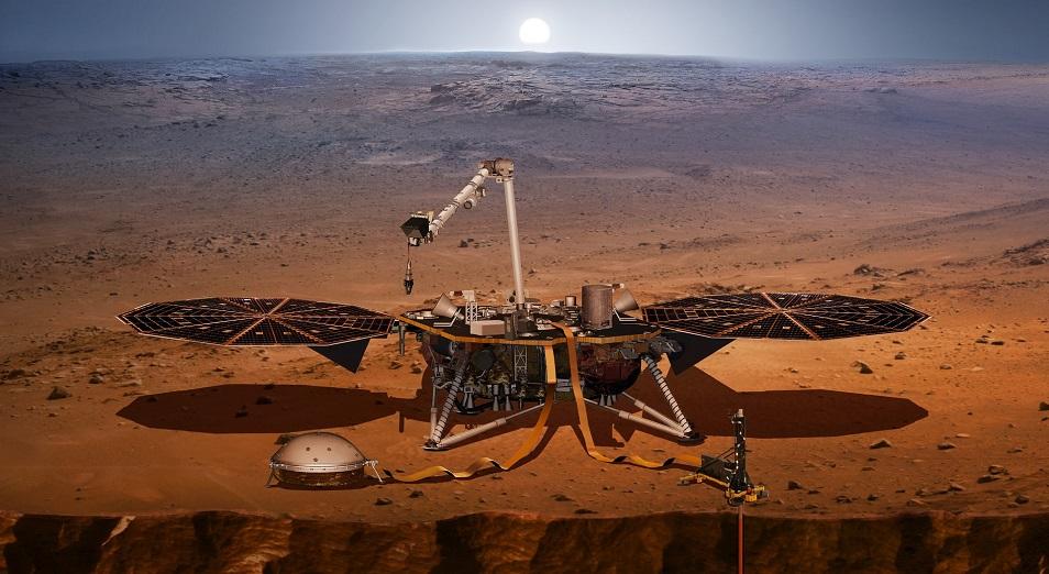 Калифорниядан Марсқа, НАСА, Марс, Джим Грин, «Инсайт»