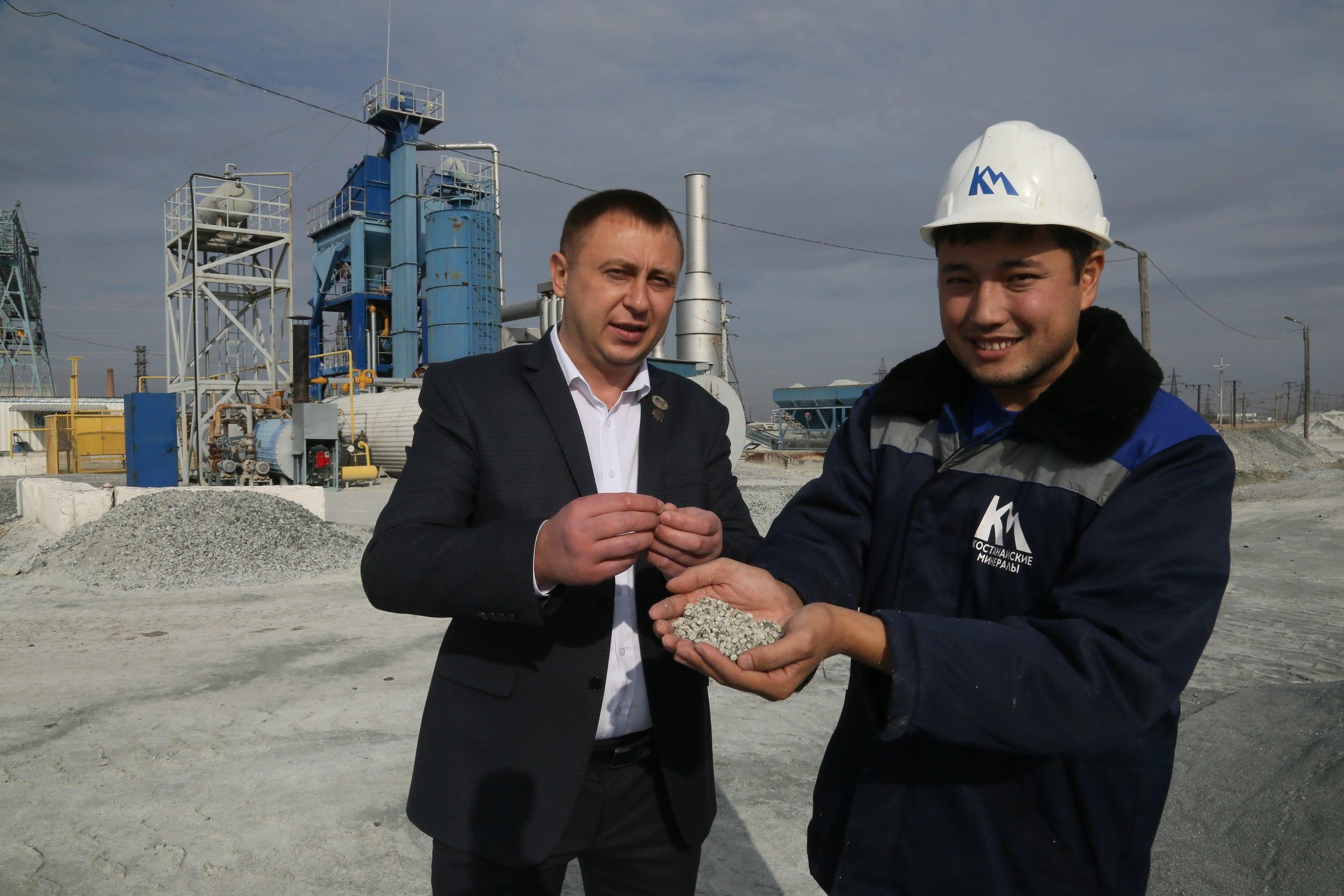 """Костанайские минералы"" увеличили экспорт хризотила на 3%"