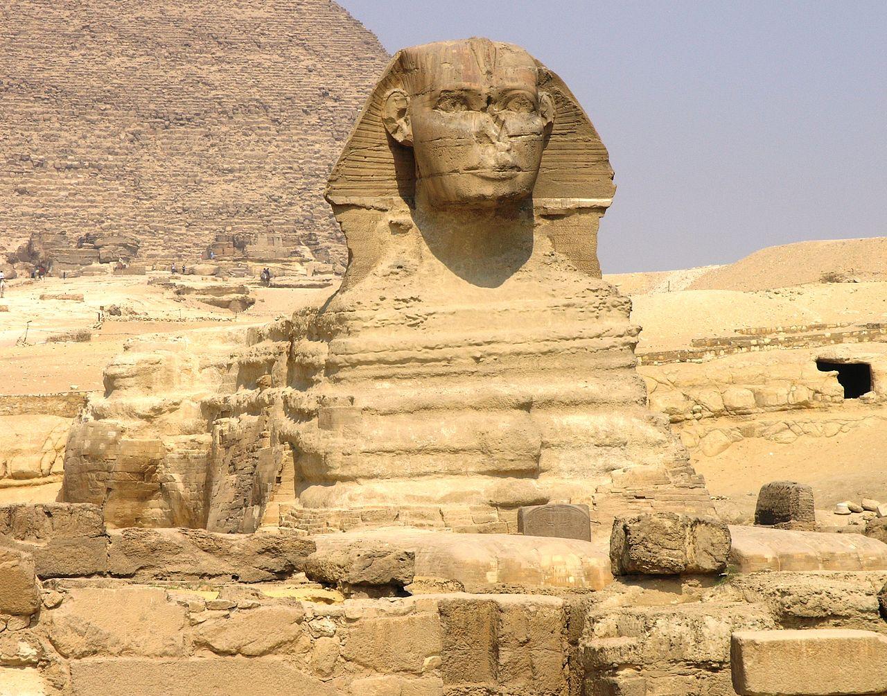 В Египте нашли ещё одного древнего сфинкса, Египет, Археолог, Сфинкс
