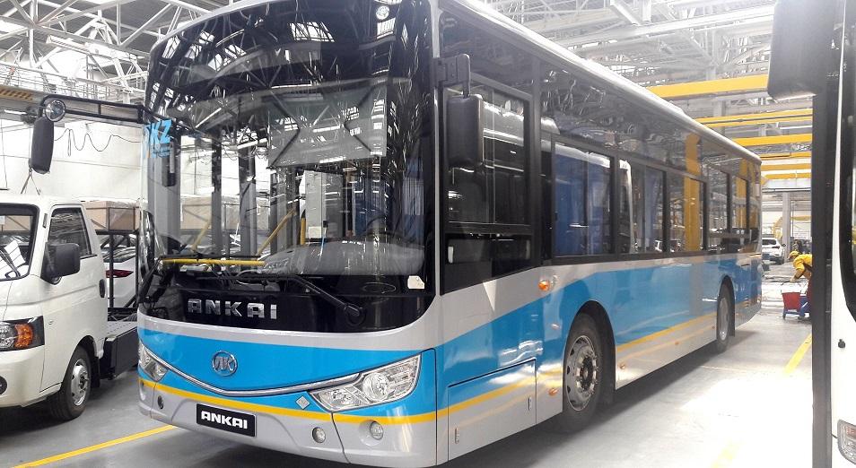 Актобе пересядет на костанайские автобусы, Актобе, Авто, БРК-Лизинг, Табыс Актобе, Ankai