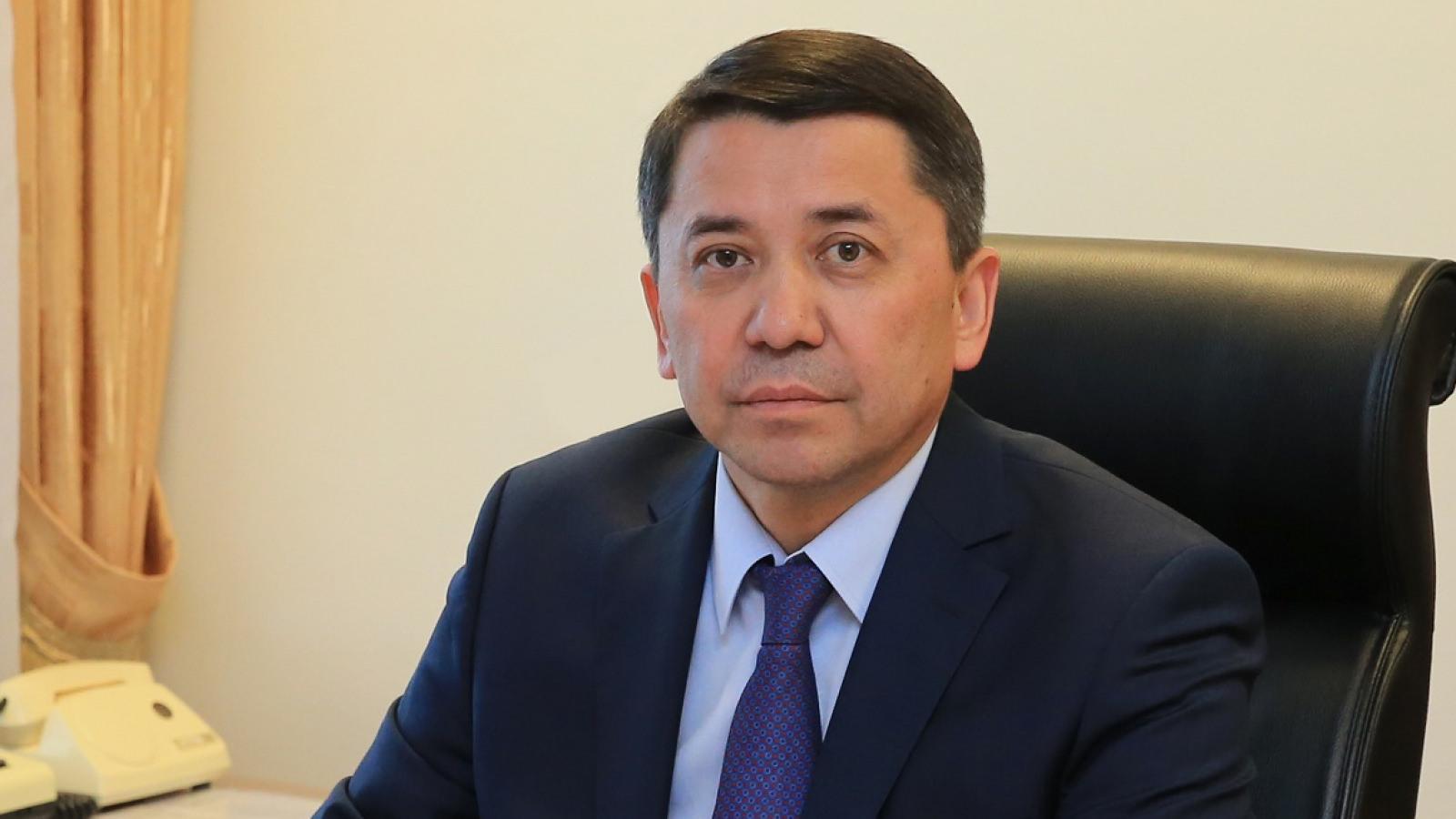 Досье: Туяков Женис Шылбынович,  акимат Алматинской области