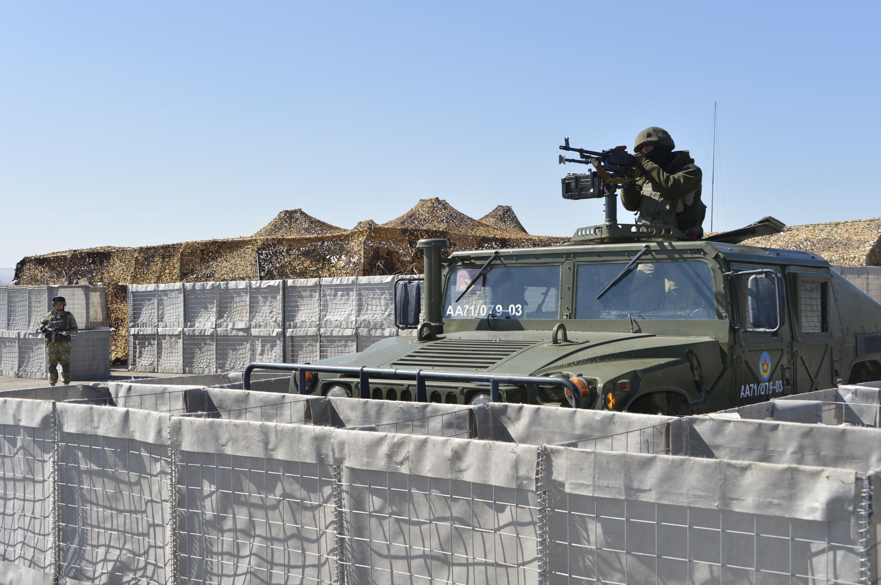 Войсковые разведчики и военный спецназ стран ОДКБ проведут тренировки в РК , Спецназ, ОДКБ , Тренировка