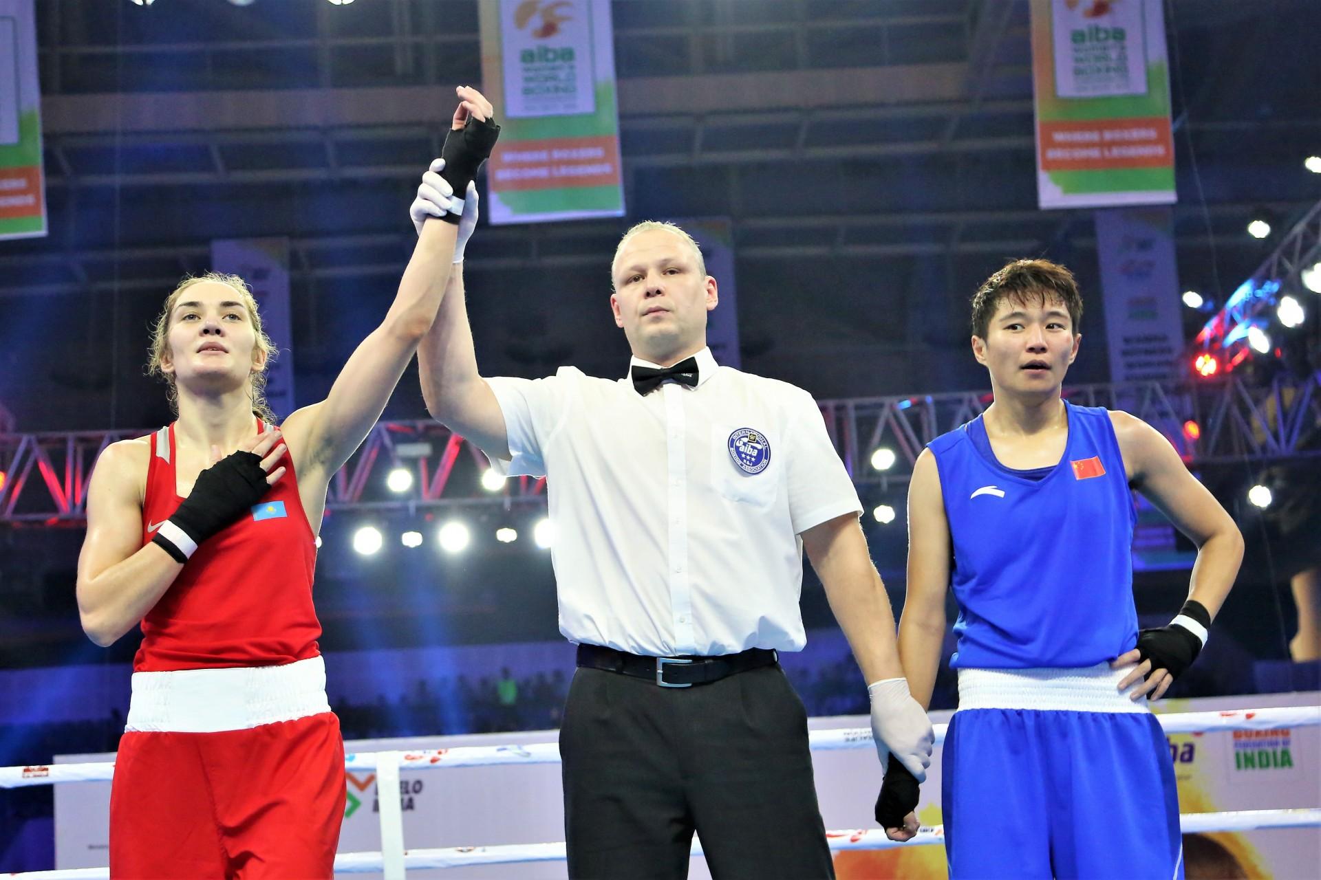 Карина Ибрагимова завоевала бронзу на чемпионате мира по боксу