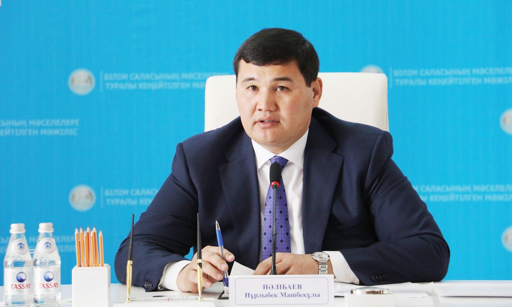 Досье: Налибаев Нурлыбек Машбекович     , Аким города Кызылорда