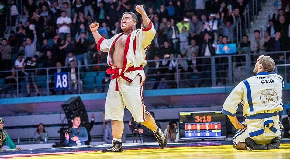 Айбек Нұғымаров екінші рет «Әлем барысы» атанды   , Әлем барысы, Айбек Нұғымаров, қазақ күресі, турнир