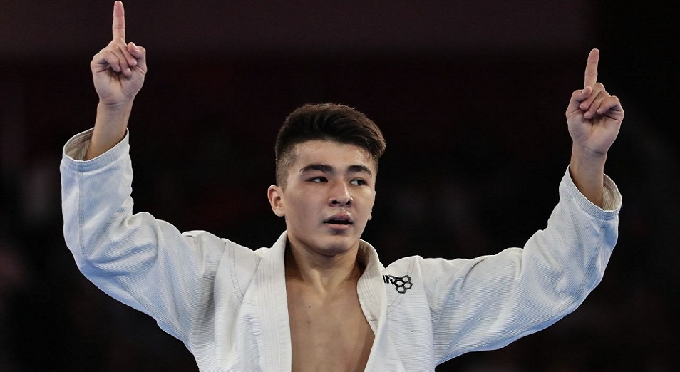 Қуан қазақ, алтын алды Дарханың!, ХVІІІ жазғы Азия ойындары, Джакарта, джиу-джитсу, алтын медаль, Дархан Нортаев