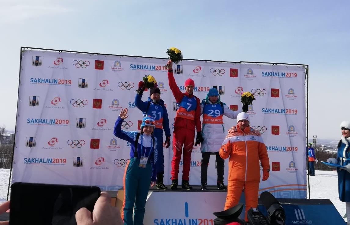 Казахстанец завоевал бронзу Международных игр «Дети Азии»  , Спорт, Биатлон