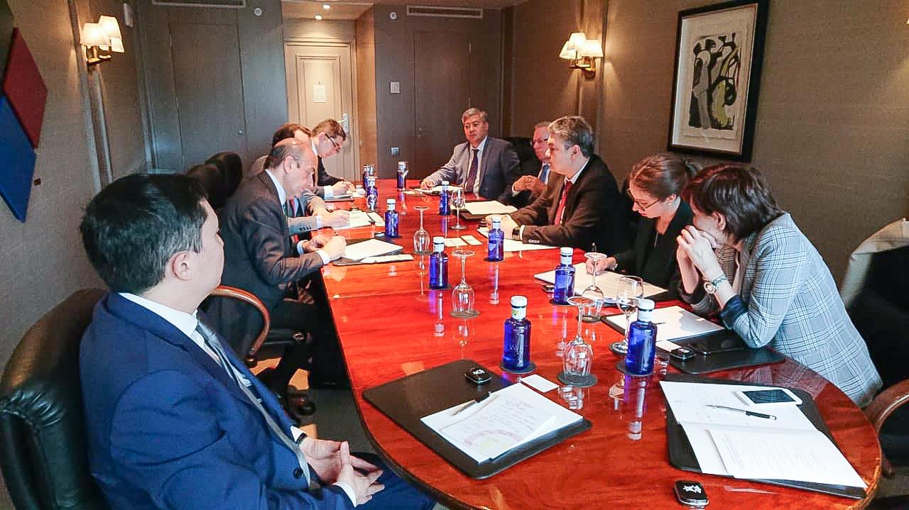 Казахстанско-испанский бизнес-форум состоялся в Мадриде