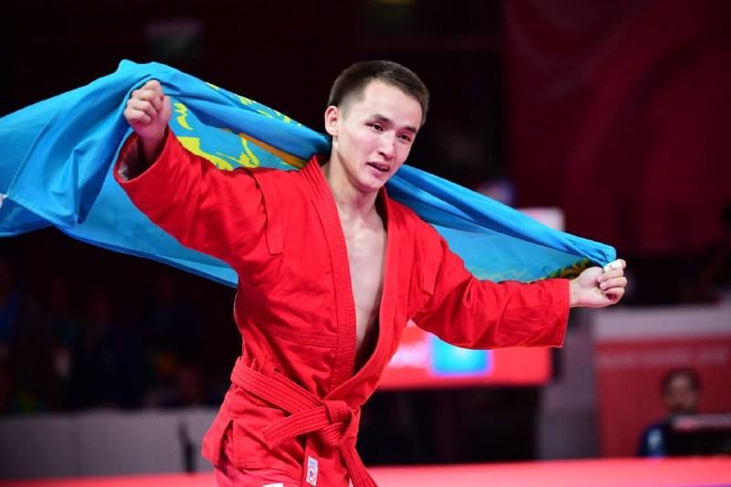 12-ое «золото» принес Казахстану самбист Баглан Ибрагим на Азиаде-2018