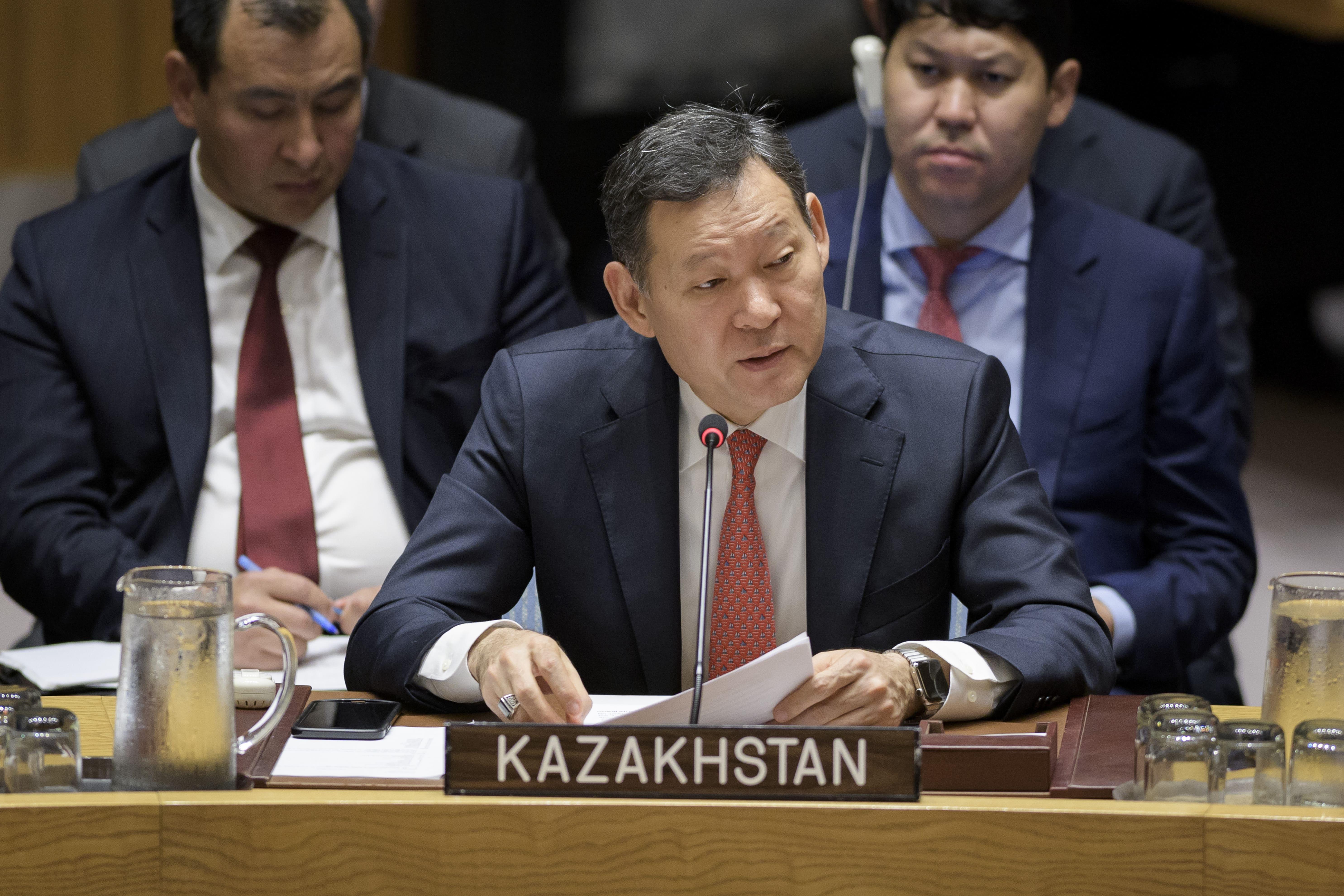 Казахстан намерен увеличить вклад в миротворческие операции ООН