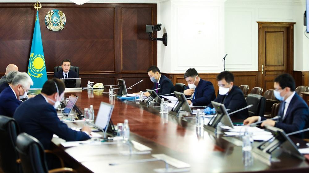 Аскар Мамин провел заседание совета директоров холдинга «Байтерек»