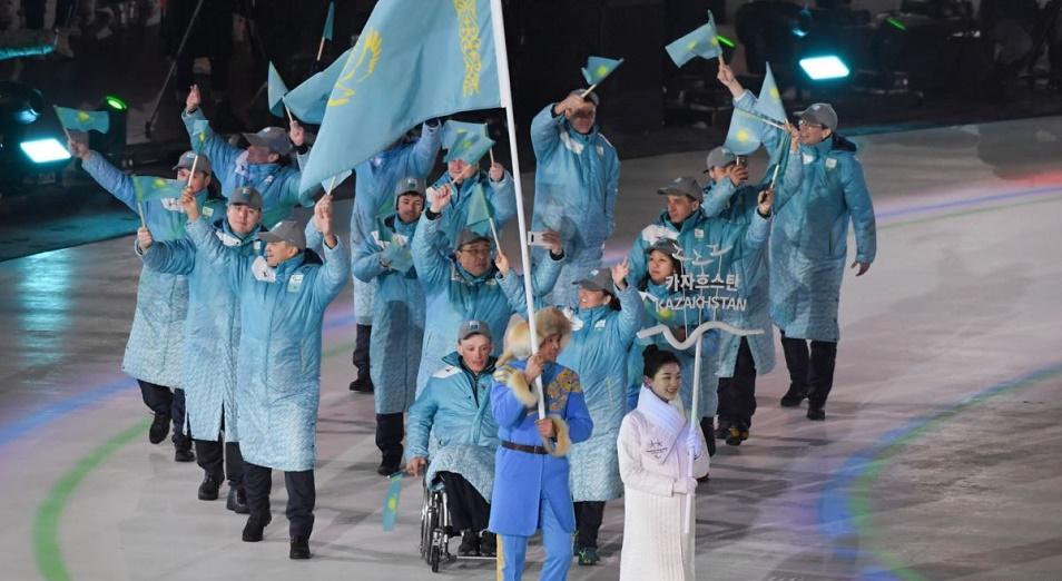Казахстан повторил результат лиллехамерской паралимпиады , Казахстан, Паралимпийская сборная, Пхенчхан, Лиллехамер, Паралимпиада, Александр Колядин, Медаль, Национальный паралимпийский комитет, Ерлан Сулейменов