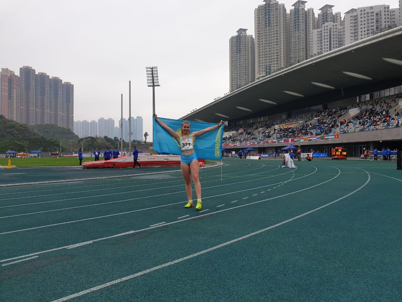 Золото и серебро взяли казахстанки на чемпионате Азии U-18 по легкой атлетике, Казахстан, чемпионат Азии, U-18, Легкая атлетика