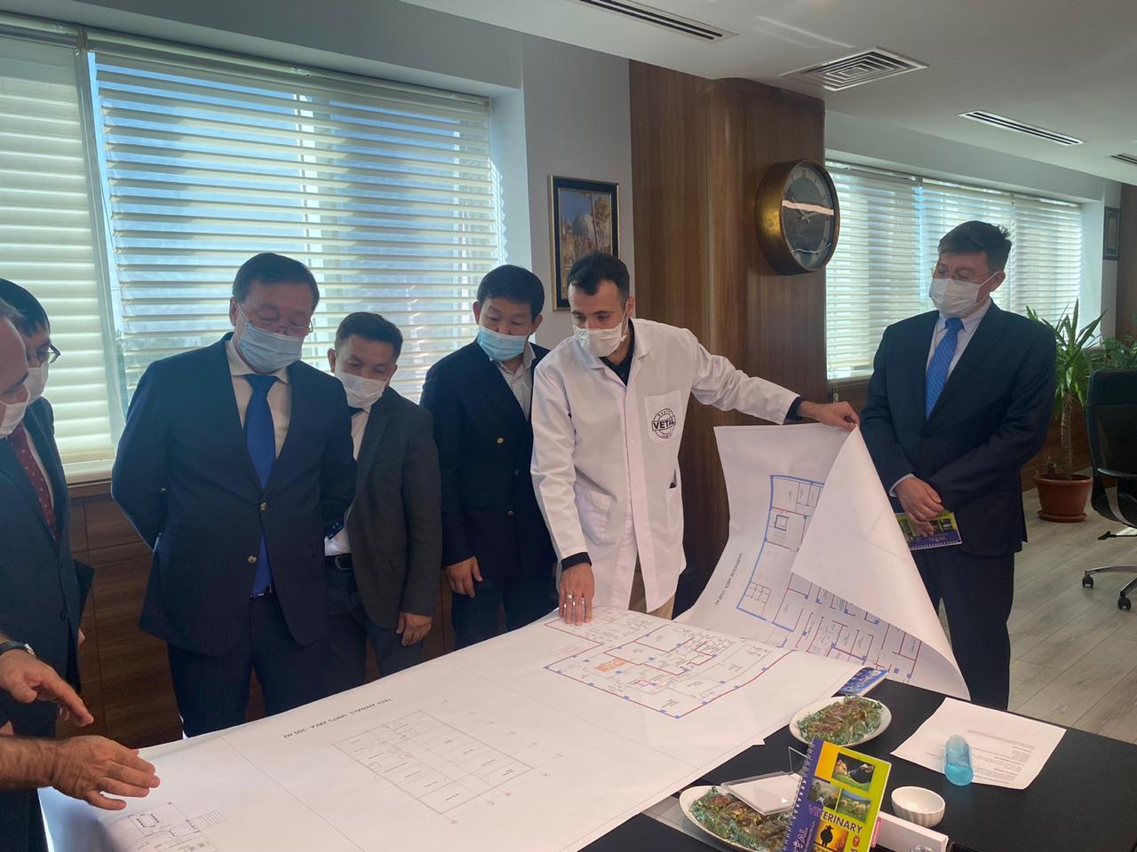 Казахстан и Турция договорились о производстве ветпрепаратов и вакцин в Туркестанской области