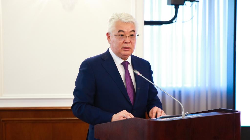 Новые подходы ГПИИР озвучил Бейбыт Атамкулов