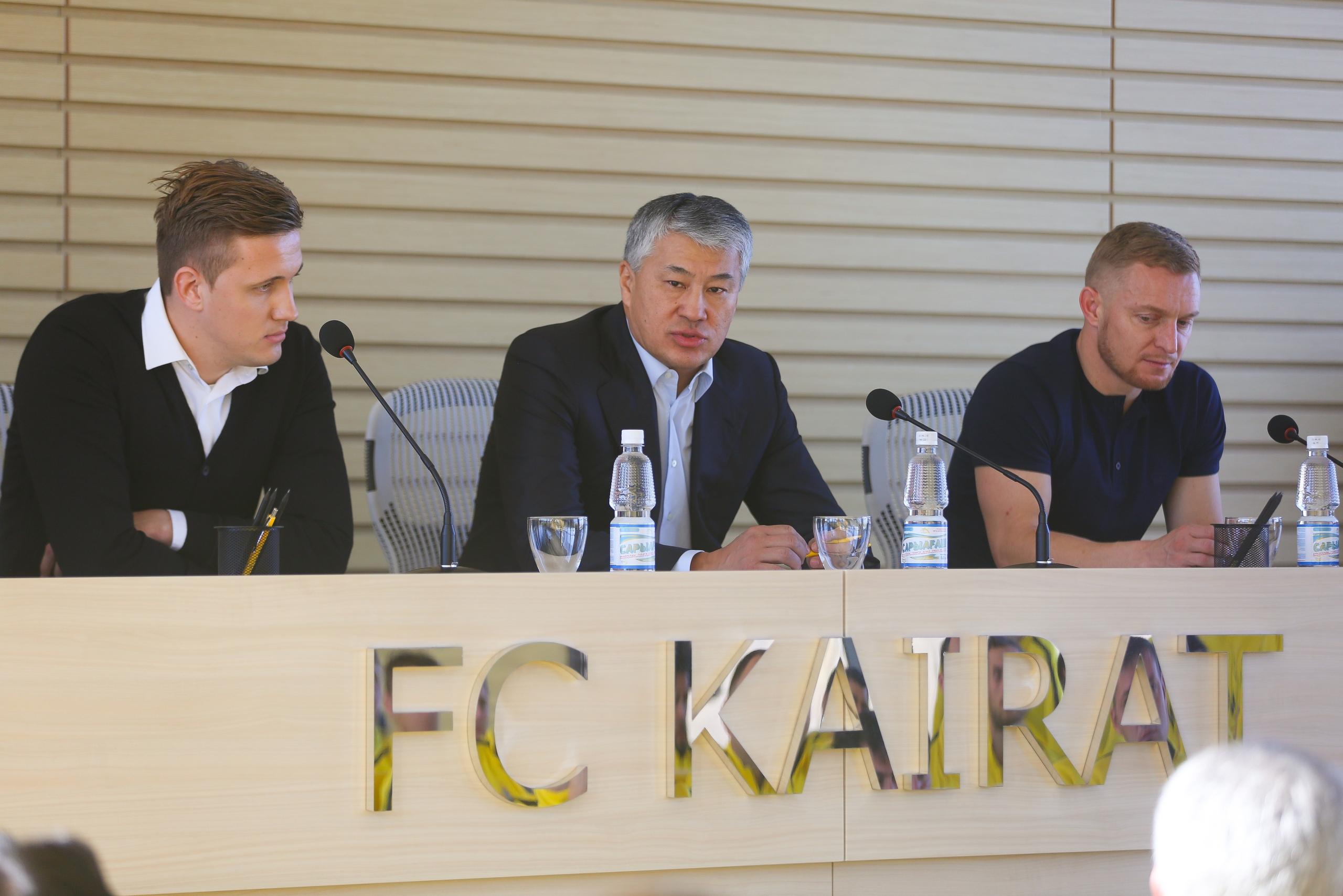«Кайрат» представил нового главного тренера