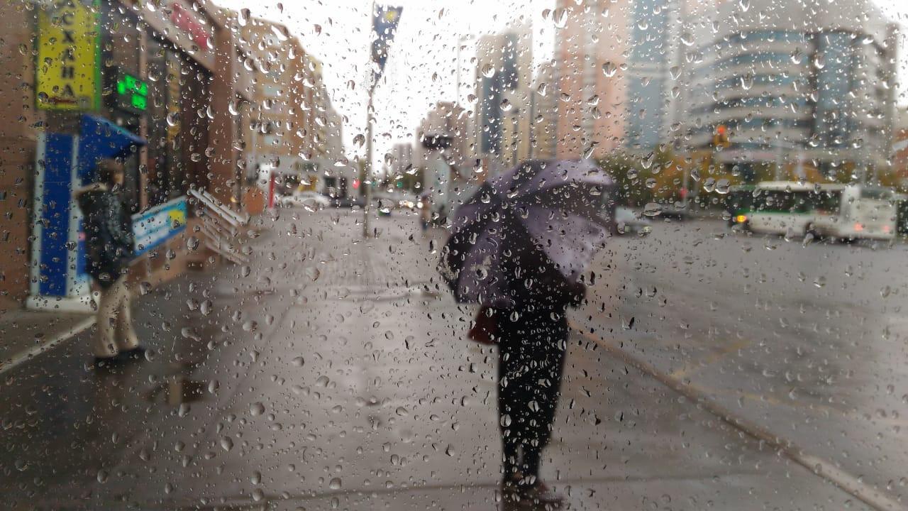 На выходных в Казахстане ожидается дождливая погода
