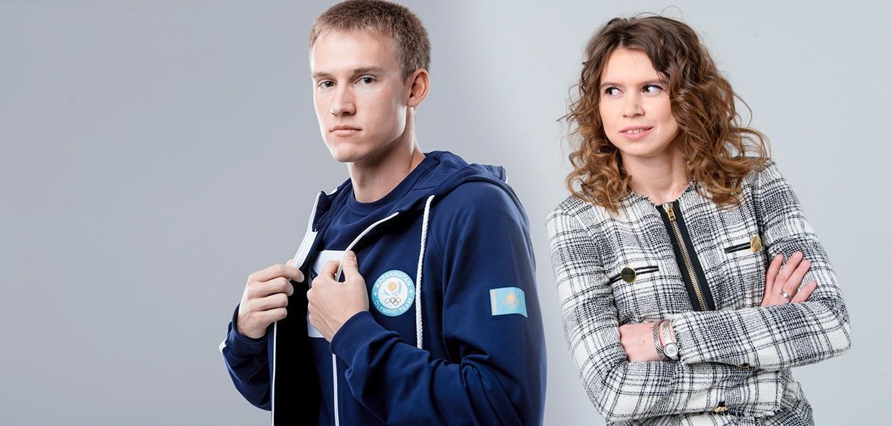 Дмитрий Баландин мен Юлия Галышева Олимпиада күніне орай флешмоб бастады