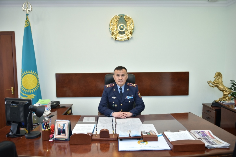 Председателем КУИС МВД РК назначен Дархан Канатбеков
