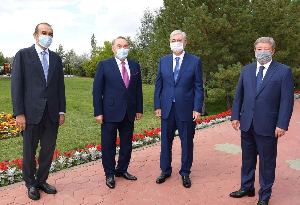 С юбилеем Нурсултана Назарбаева поздравили глава государства, председатель КНБ РК и председатель правления «Самрук-Казына»