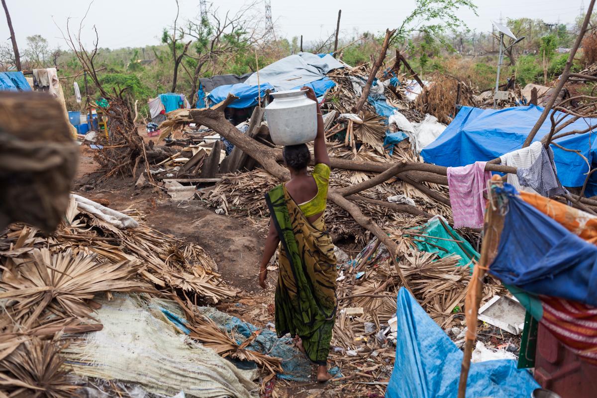 Последствия крупнейшего урагана в истории Азии помогает восстанавливать страховщик из Казахстана