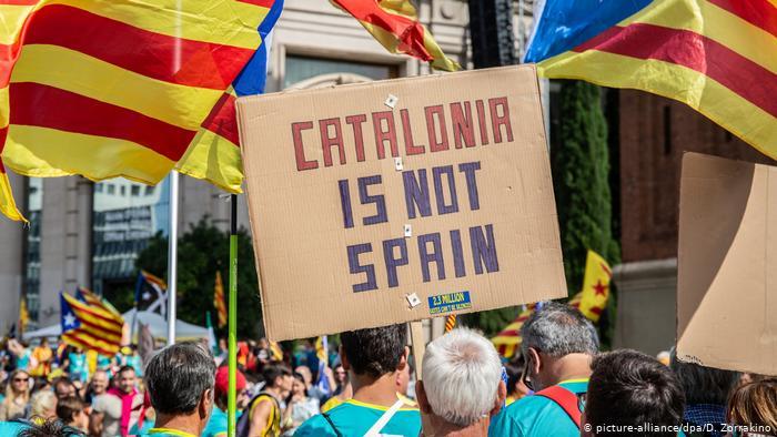 Каталонияның ұлттық күнінде Барселонада митинг өтті