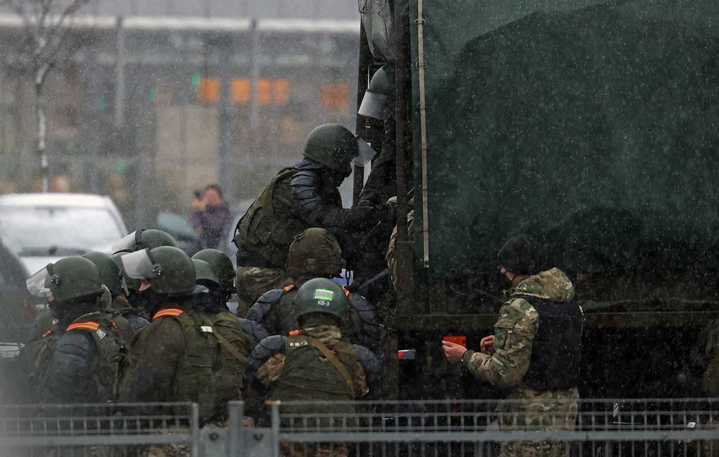 Акция протеста завершилась в Минске