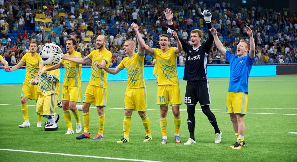 Лига Европы: самый удачный старт «Астаны» в группе