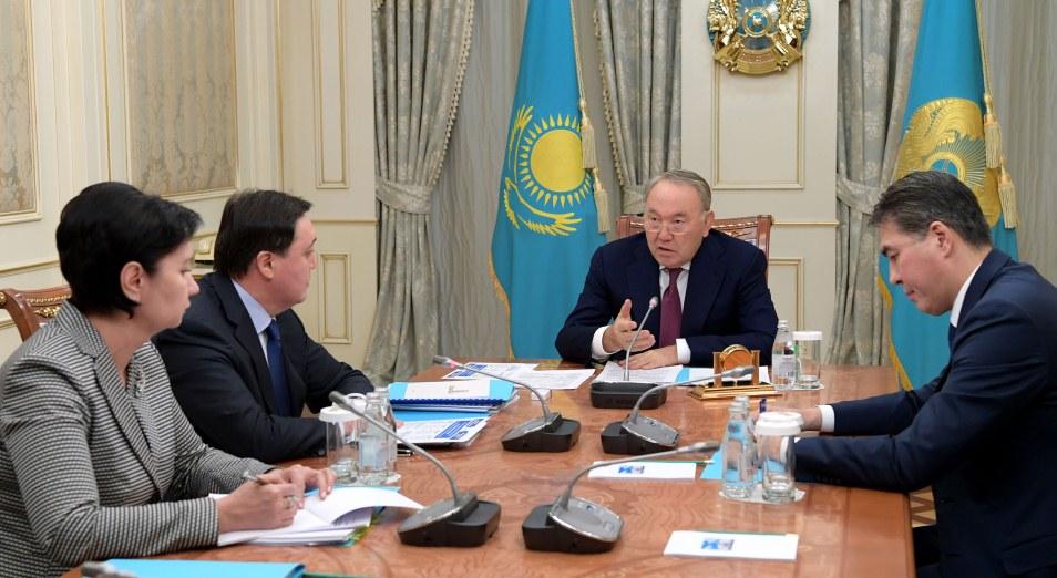 Назарбаеву доложили о плане работы правительства по вопросам реализации социальной политики