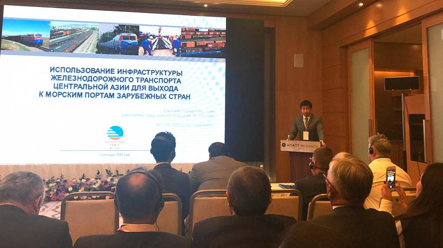 Казахстан пригласил Узбекистан в проект Транскаспийского маршрута , Казахстан, Узбекистан, Транскаспийский маршрут, КТЖ